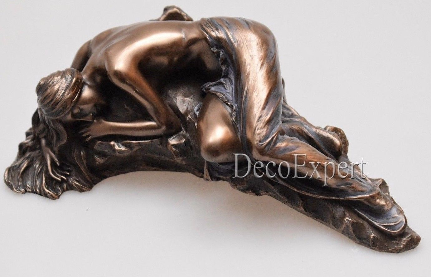 Woman Nude Sculpture woman on the stone erotic figurin Free Shipping Everywhere