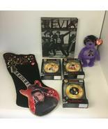 Elvis Presley Memorabilia Lot Stocking Ty Beanie Baby Book 3 Musical Orn... - $74.79