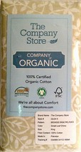 The Company Store Pillowcases Brookside Certified Organic Cotton King - $28.70