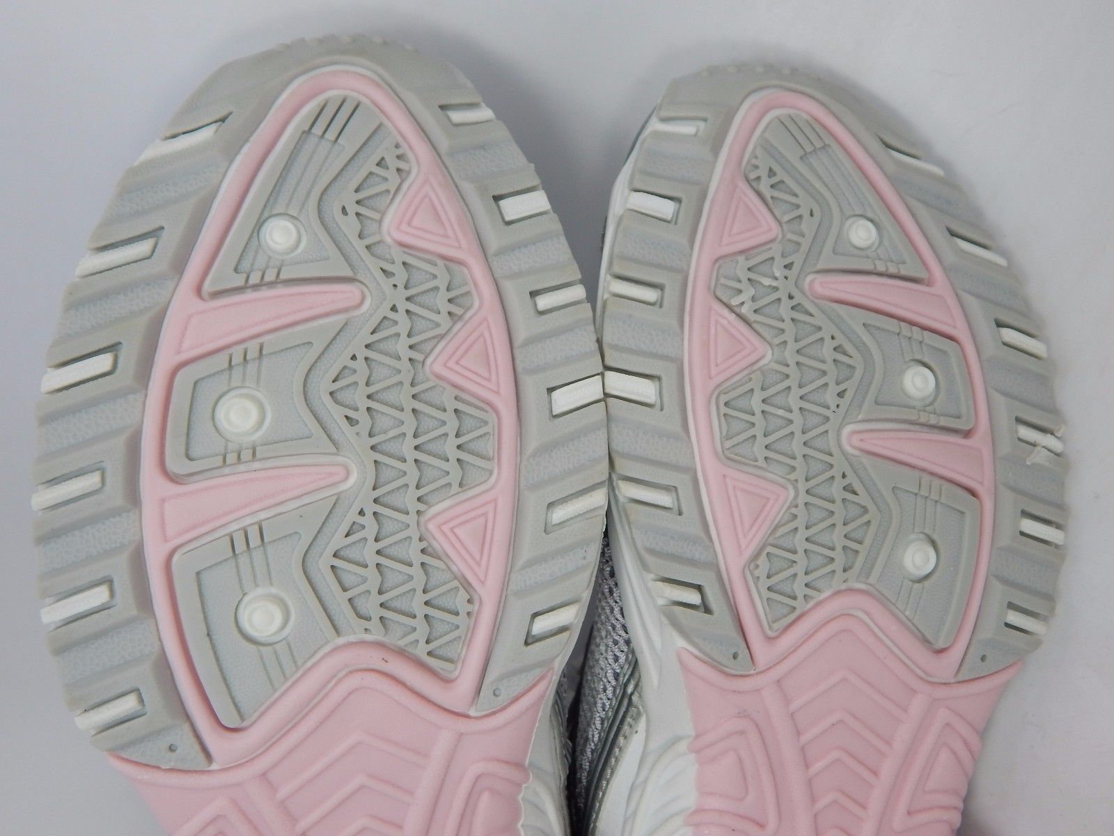 LA Gear Stride Women's Running Shoes Size US 8 M (B) EU 39 White Gray Pink