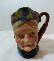 """Sterling Pottery Staffordshire England Cooper Clayton Character Jug """"Granny"""" - $24.98"""