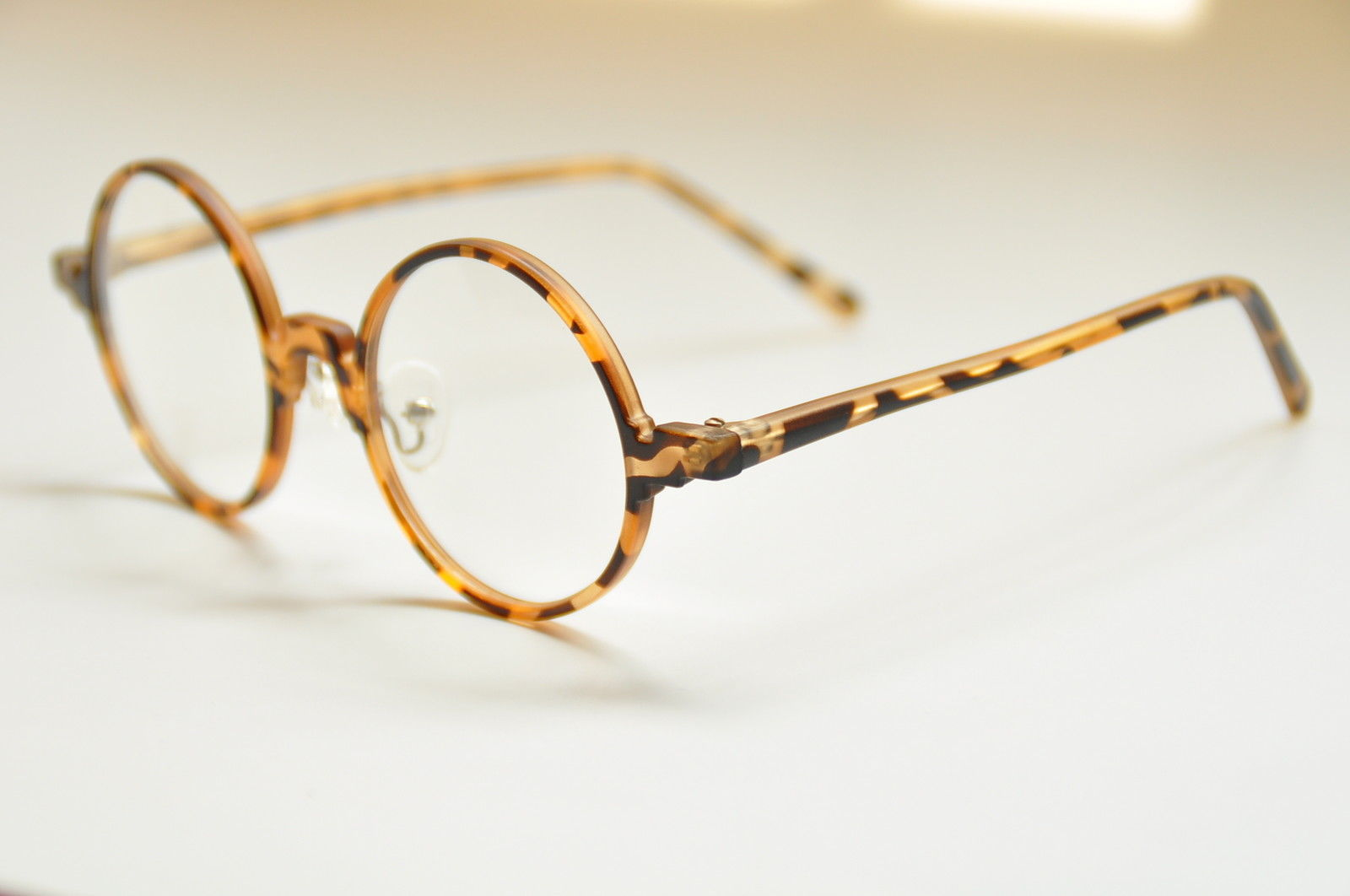 Vintage Round Eyeglass Frames Retro Spectacles Eyewear RX ...