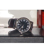 New Casual Unisex Black & Silver PU Leather Ban... - $6.44