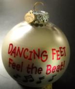Bronners Christmas Ornament Dancing Feet CHRISTmas Wonderland Original Box - $8.99