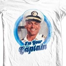 The love boat captain tshirt white cbs176 thumb200