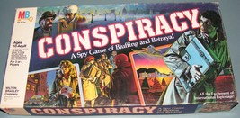 1982 Conspiracy Game - $31.50
