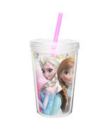 FROZEN- CUP WITH STRAW - $4.95
