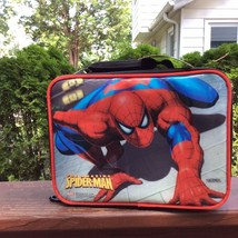 SPIDERMAN LUNCHBOX-By Thermos Co.INCLUDES A SPIDERMAN CANTEEN! - $13.12