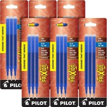 Pilot Gel Ink Refills for FriXion Erasable Gel Ink Pen, Fine Point, Blue... - $22.74