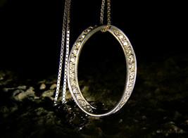 DRAGON DJINN of INFINITY MOBIUS STRIPIS Diamonds Pendant Necklace izida ... - $444.00