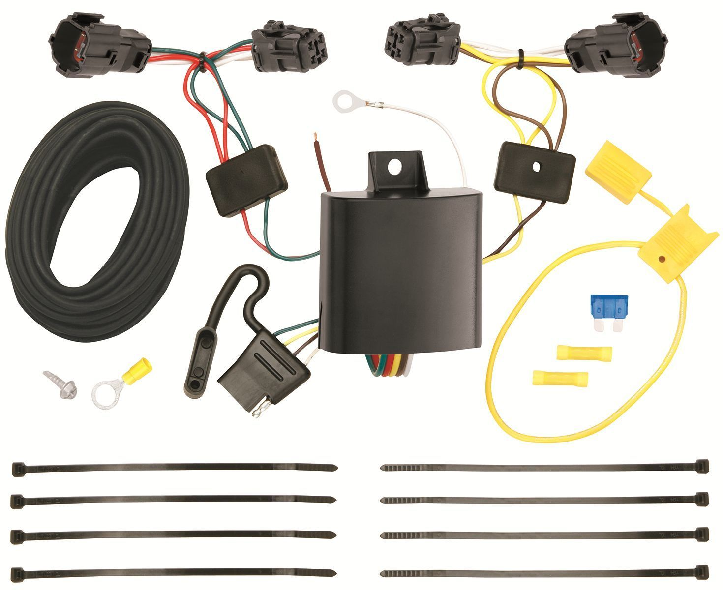 Trailer hitch wiring kit fits  kia sorento