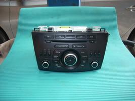 2012 MAZDA 3 RADIO BBM566AR0
