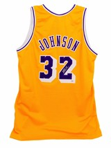 MAGIC JOHNSON SIGNED LAKERS YELLOW JERSEY PSA/DNA COA AUTOGRAPH GOLD LOS... - $362.57