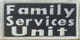 Family Services Unit Iron On Patch - $4.09