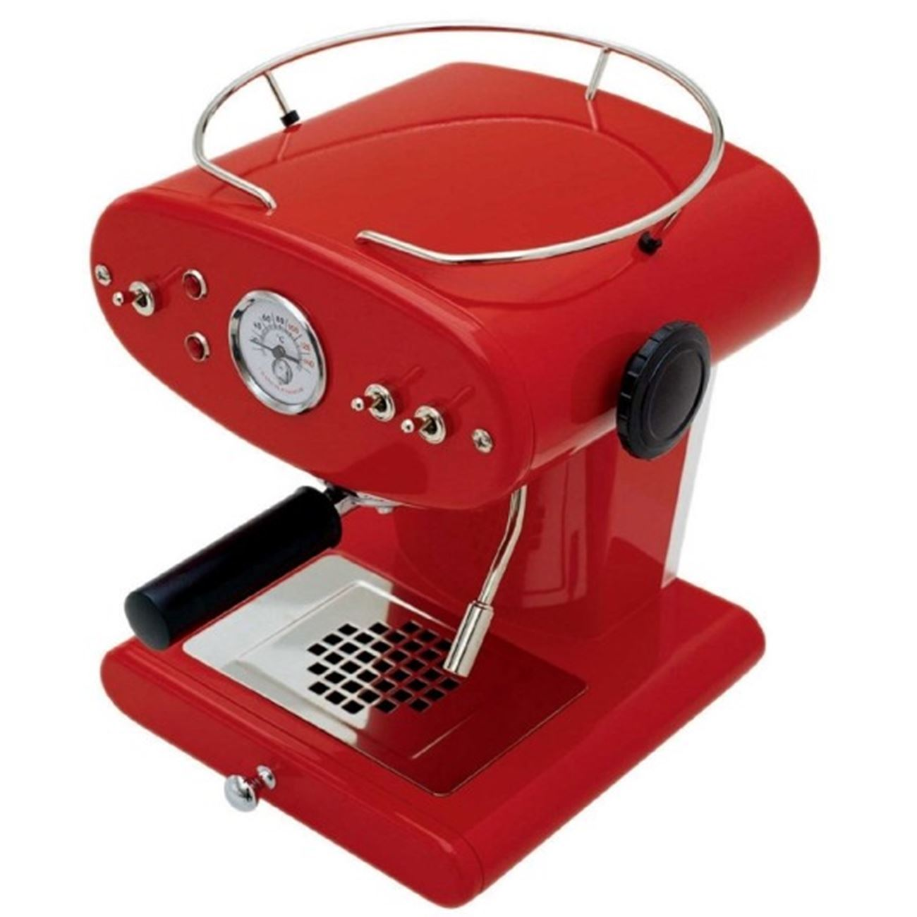 illy francis francis x1 red espresso machines. Black Bedroom Furniture Sets. Home Design Ideas
