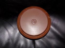 Vintage Tupperware Brown Seal N Serve Bowl W/Lid #1206 EUC - $18.48