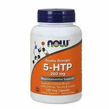 NOW Supplements, 5-HTP (5-hydroxytryptophan) 200 mg, Double Strength, Neurotr... - $40.29