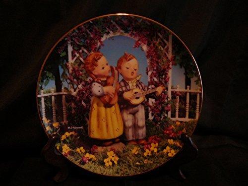c1990 Danbury Mint Hummel Little Companions Little Musicians plate NEGR76 - $38.21