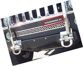 Hummer H3 Front Bumper Chrome Letters Insert - $30.00