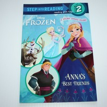 Step into Reading Level 2: Frozen: Anna's Best Friends by Christy Webste... - $3.99