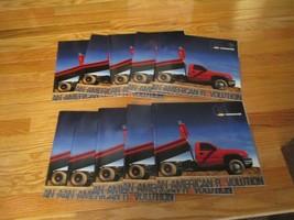 10 Chevrolet Chevy Commercial vehicles 2006 auto Dealer showroom Sales Brochure - $29.99