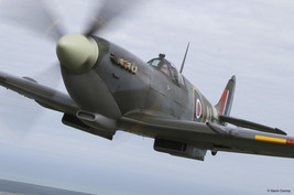 Spitfire AL Airplane Metal Sign - $29.95