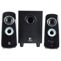Logitech Z323 3-Piece 2.1 Channel Multimedia Speaker System (Black) - $49.63