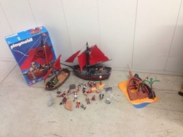 Playmobil 3750 Pirate Ship w/ Lots of Extra Pirates and Accessories - $46.75