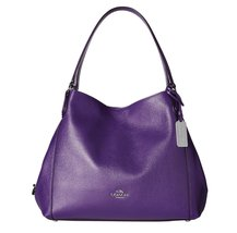 COACH EDIE SHOULDER BAG 31 IN REFINED PEBBLE LE... - $292.04
