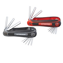 2 Pc SAE & Metric Folding Hex Key Set Pittsburgh - $8.73