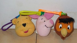 1999 McDonalds Happy Meal Toys Winnie the Pooh Lot - $5.00