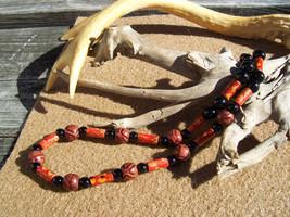 Halloween Wooden Beaded Necklace - $9.99