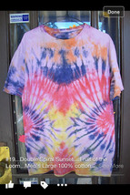 SALE--Double Spiral Sunset Tie Dye 5 OFF - $15.00
