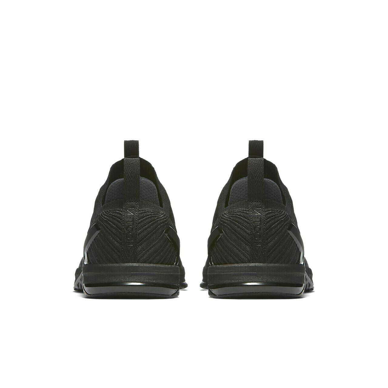 Nike Metcon DSX Flyknit 2 Triple Black Crossfit Training Shoes 924423-004 image 5