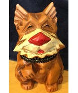 Vintage Napcoware Dog Puppy Bank M-8915 0R 6915 Made in Japan - $9.49