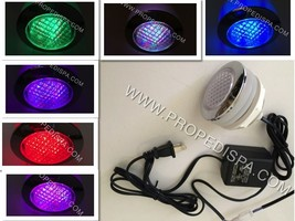 Underwater 7 Color changing Led light nail salon pedicure massage spa ch... - $47.03