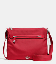 NWT Coach Red Nylon Crossbody Bag - 35502 New (... - $145.00