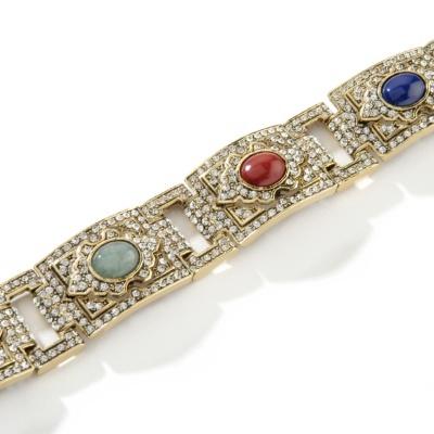 "Princess Amanda Moroccan Mosaics 7-1/2"" Line Bracelet"