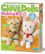 4M Glove Doll Making Kit~ Includes 2 Glove Dolls NIB - $11.99
