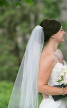 Wedding veils READY TO SHIP Fingertip short veils White, Ivory,Dia - $26.99