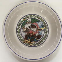 1989 watkins snow magic country kids collector's recipe plate fireside a... - $19.75