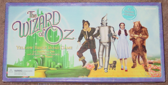 Primary image for WIZARD OF OZ YELLOW BRICK ROAD GAME 1999 PRESSMAN COMPLETE EXCELLENT
