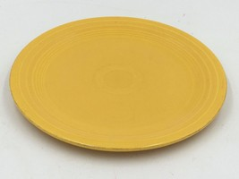 "Vintage Unmarked Fiestaware Sunflower Yellow 9-3/8"" Dinner Large Plate DH - $9.95"