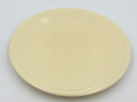 "Vintage Unmarked Fiestaware Old Ivory 9-3/8"" Dinner Large Plate DH - $9.95"