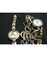 Vintage Kim Rogers Silver Tone Bracelet Watch and Lorus Silver/Gold Watch - $11.87
