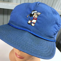 Mickey Mouse VTG Disney World Golf Strapback Baseball Cap Hat - $12.83