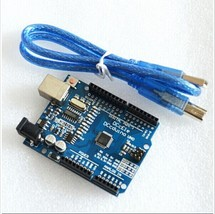 5set/lot UNO R3 UNO board with usb cable for Arduino(Compatible) UNO MEG... - $25.48