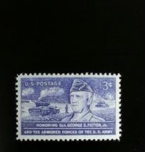 1953 3c General George S. Patton, United States Army Scott 1026 Mint F/V... - $0.99