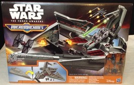Star Wars The Force Awakens Micro Machines First Order Star Destroyer Pl... - $35.59