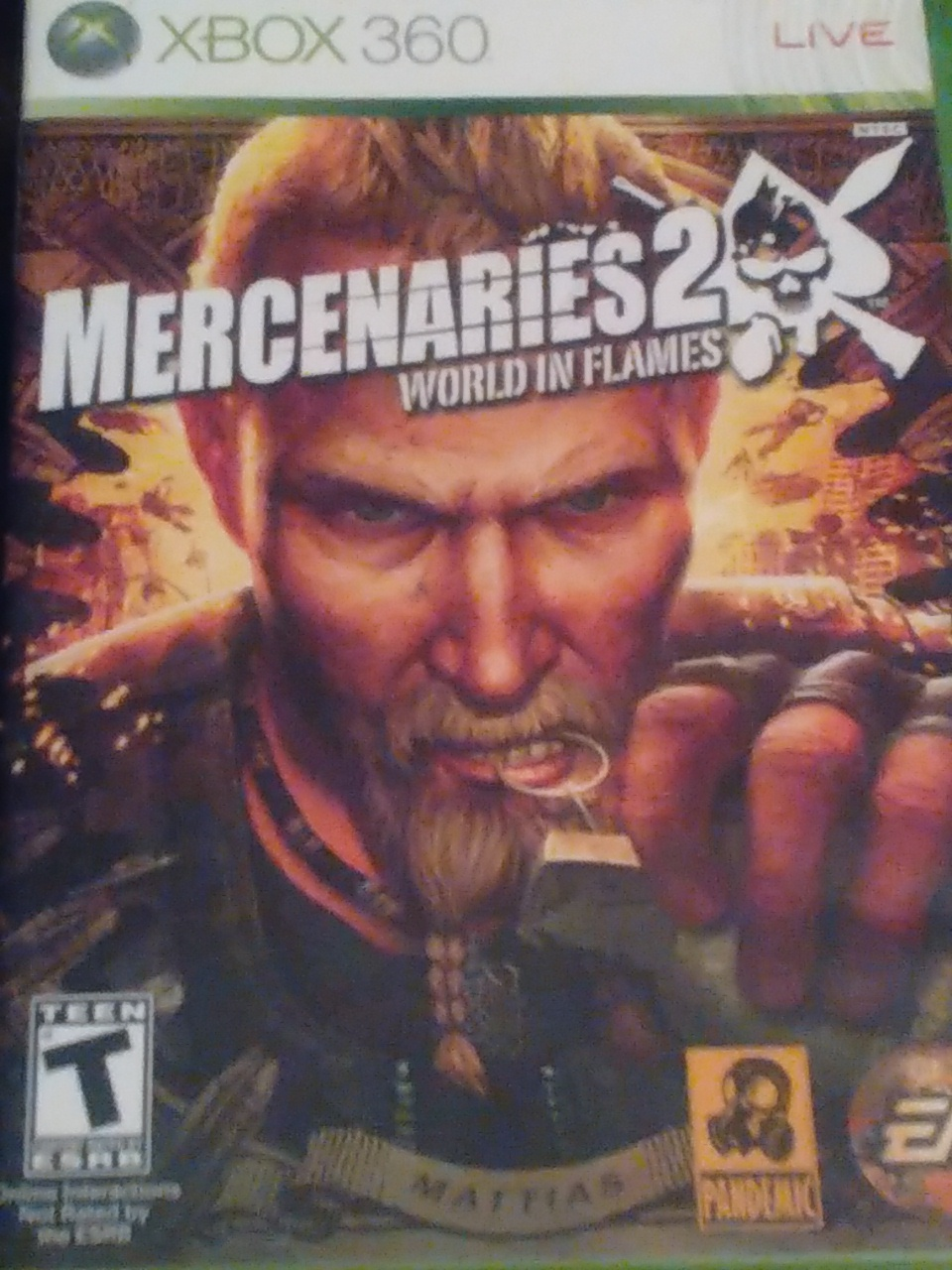 Primary image for Mercenaries 2 world in Flames Xbox 360